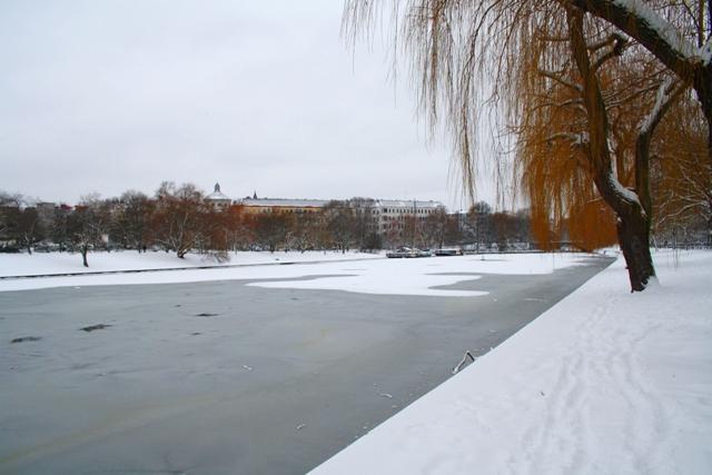 Landwehr Kanal in Berlin Kreuzberg